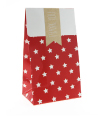Red with White Star Gloss Treat Bag
