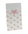 White Floral Gloss Treat Bag