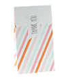 Pastel Sorbet Stripe Gloss Treat Bag