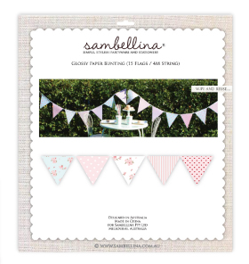 Floral Polkadot and Stripe Party Bunting