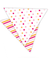 Summer Peach Reversible Party Bunting