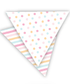 Pastel Sorbet  Reversible Party Bunting