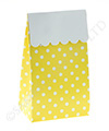 Yellow Polkadot Treat Box