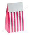 Raspberry Stripe Treat Box