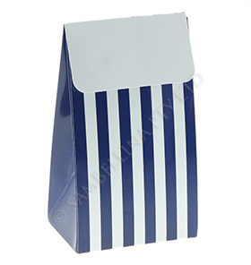 Navy Stripe Treat Box