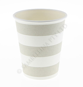 Candy Stripe Champagne Cups