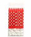 Polkadot Red Candles