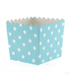 Blue with White Stars Favour Box