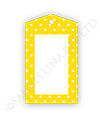 Yellow Polkadot Gift Tags