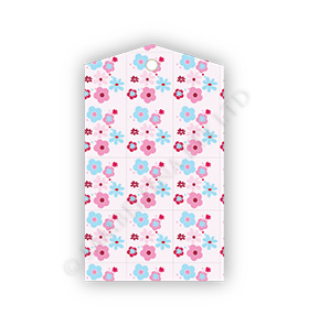 Pink Floral Gift Tags