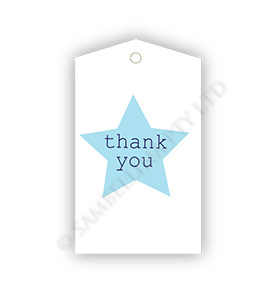 Thank You Star Gift Tags