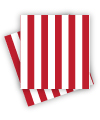 Red Candy Stripe Napkins
