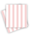 Pink Candy Stripe Napkins