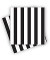 Black Stripe Napkins