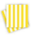 Yellow Stripe Napkins
