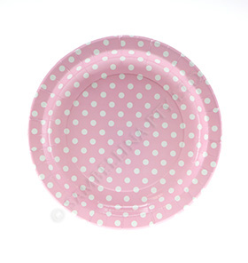 Polkadot Pink Party Plates