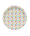 Confetti Round Party Plates